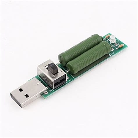 what is discharge resistor voltage current tester usb mini discharge load resistor 2a 1a w switch electronics circuit