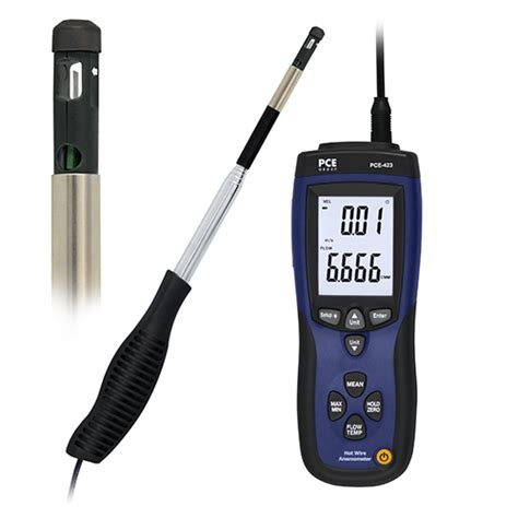 Thermo Anemometer thermo anemometer pce 423 pce instruments