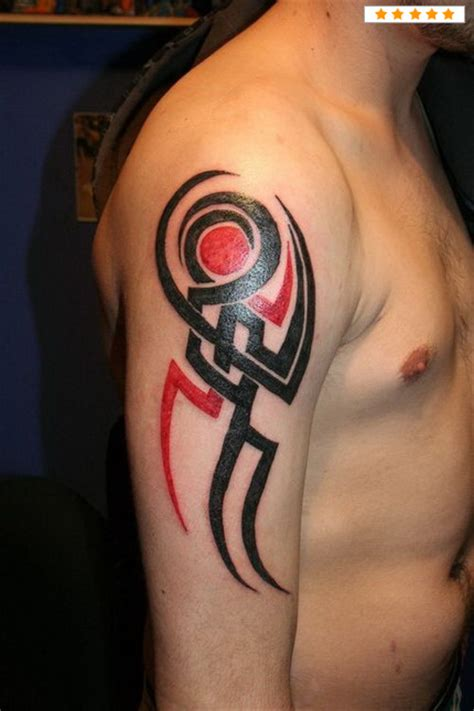 tribal elbow tattoo images designs