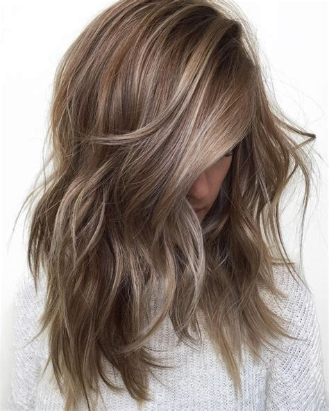 50 light brown hair color ideas with highlights and lowlights cool 50 ideas on light brown hair with highlights lovely