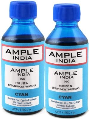 Riva Ink Canon 250 Ml Cyan 75 on gocolor universal pigment 100 ml for hp