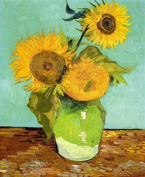 vaso di girasoli gogh artists vincent gogh flowers part 2