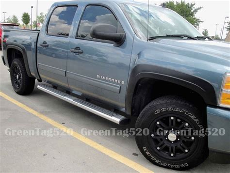 2007 2013 Chevrolet Silverado 2500HD / 3500HD Fender Flares Reg and Extended Cab