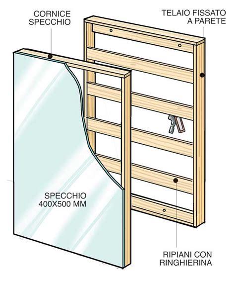 cornici per specchi fai da te specchi fai da te 4 costruzioni illustrate