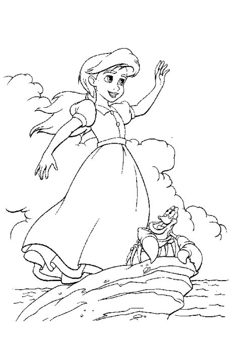 little mermaid 2 melody coloring pages coloring pages