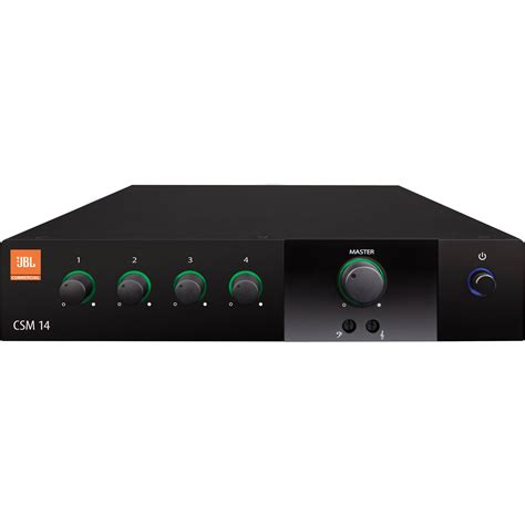 4 In 1 Out jbl csm 14 four inputs one output commercial series mixer