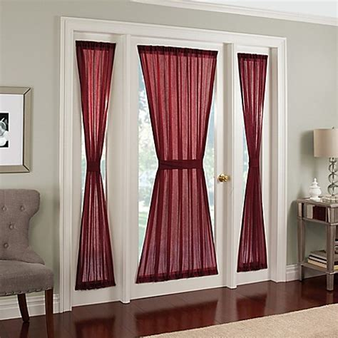 72 inch curtains window treatments buy crushed voile rod pocket 72 inch side light window