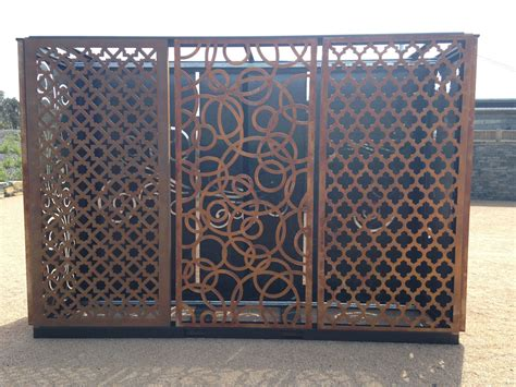 decorative privacy screens gh sheetmetal