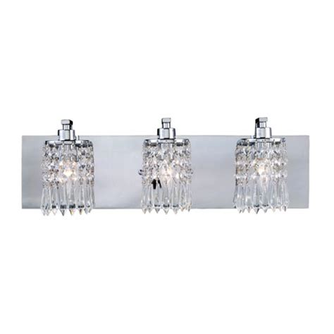 Bathroom Vanity Lights With Crystals Elk Lighting 11230 3 Optix Vanity Light
