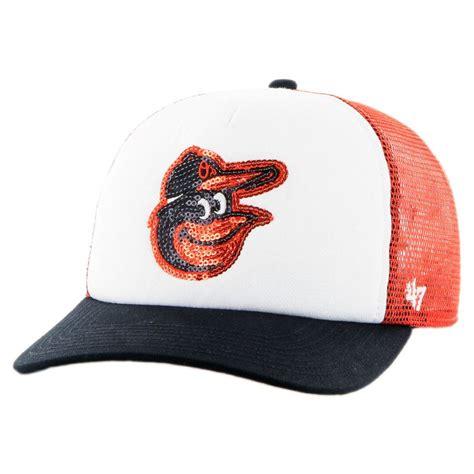 47 brand baltimore orioles mlb glimmer snapback baseball
