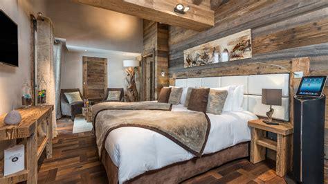 chambre style montagne impressionnant deco chambre chalet montagne et