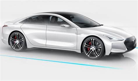 Tesla Replica Carmaker S Electric Sedan Looks Like A Tesla Replica