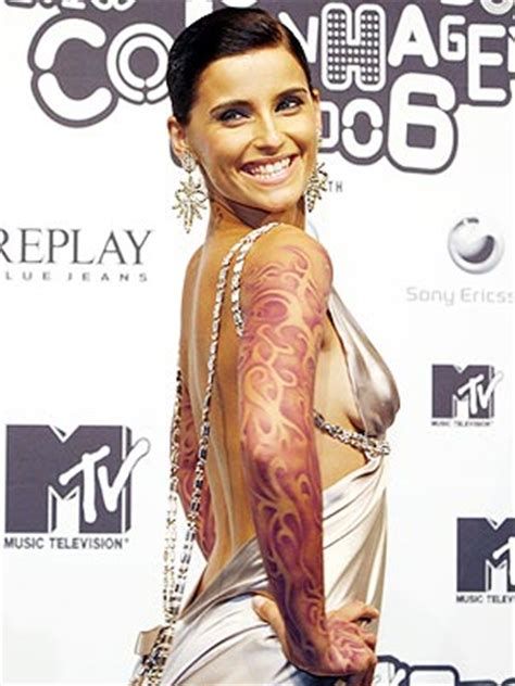 nelly tattoos nelly furtado s beat accessory style news