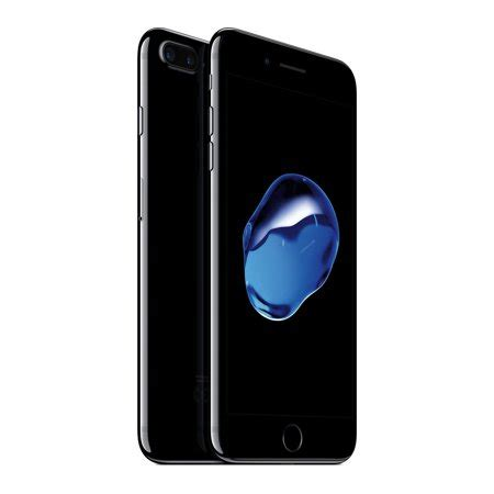 refurbished iphone 7 plus 256gb jet black unlocked walmart
