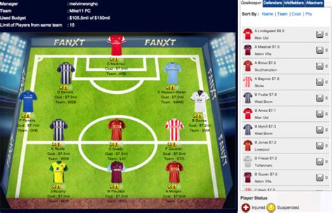epl fantasy fanxt reviewed a new fantasy football game where you can