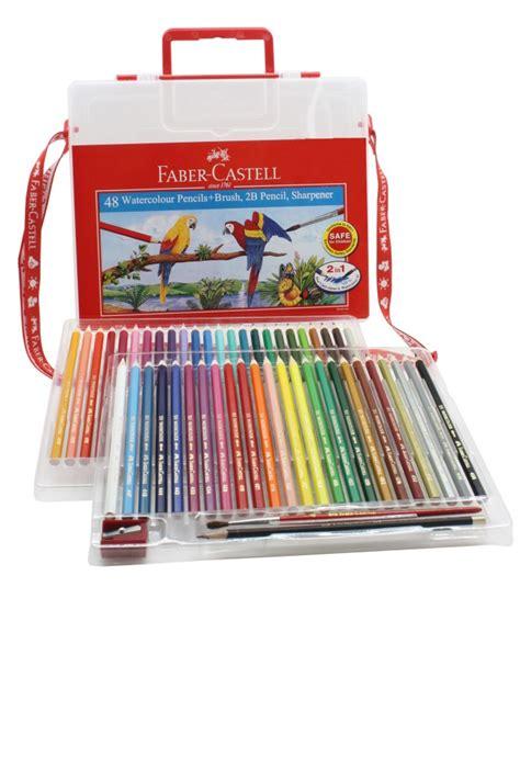 Pensil Warna Faber Castell 48 Classic Colour semasa faber castell menawarkan lebih banyak pilihan