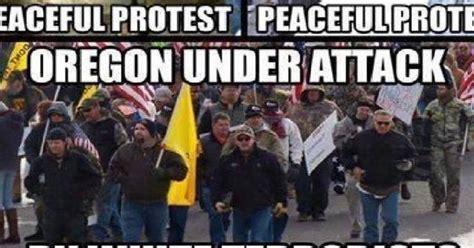 Protest Meme - brutal meme destroys left s hypocrisy on oregon protests