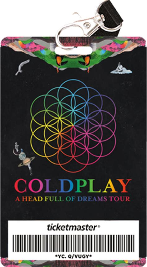 coldplay tour dates 2018 collector ticket ticketmaster