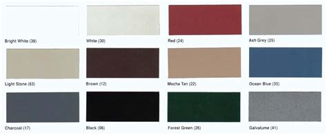home depot vinyl siding color chart images