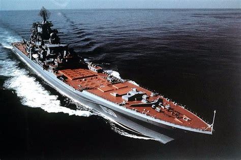 rusia munculkan lagi kapal perang terbesar dan menakutkan