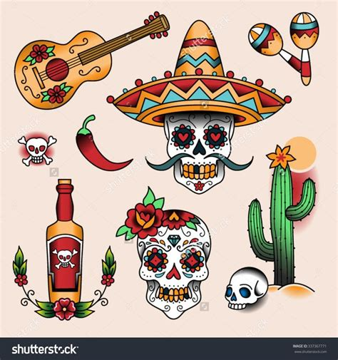traditional mexican tattoos best 20 mexican ideas on