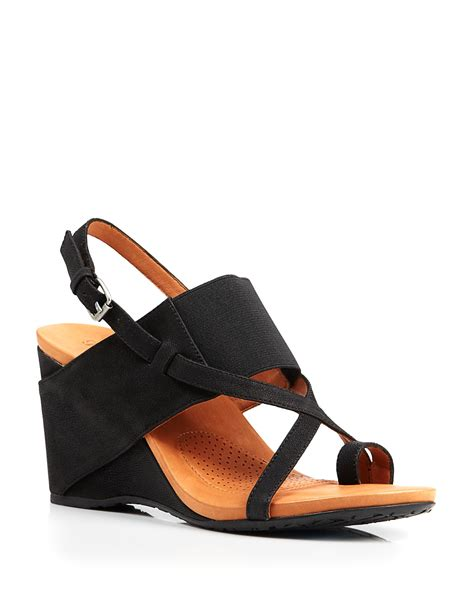 gentle souls wedge sandals irwin bloomingdale s