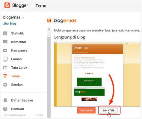 membuat header wordpress bergerak cara membuat header blog bergerak disentuh kursor blogernas