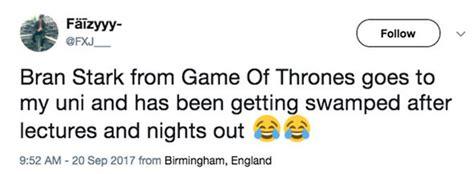game of thrones actor birmingham university game of thrones season 8 bran stark actor is now a