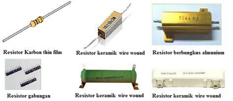 variable resistor jenis potensio aneka info teknik resistor jenis berdasarkan nilainya