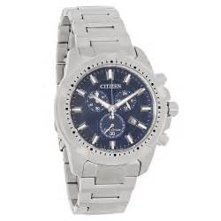 Swiss Army 2260 Silver citizen eco drive mens blue chronograph stainless