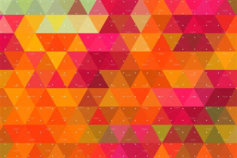 Wallpaper Patterns by Colorful Triangle Backgrounds Textures Creative Market