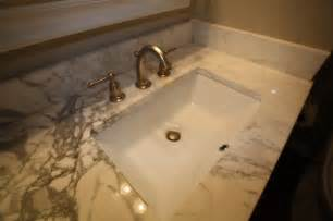 Undermount Bathroom Sinks How To Install Undermount Sink Contemporary Bathroom Sinks