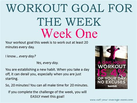 not your average runner why youã re not to run and the on how to start today books workout goal of the week and challenge of the week not