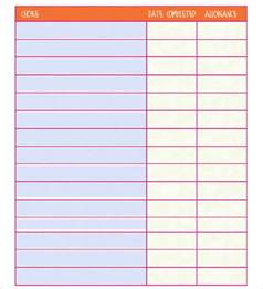 Printable Template by Chore Chart Template Free Pdf Excel Word Format