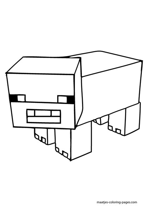 coloring pages minecraft house minecraft coloring pages animals coloring home