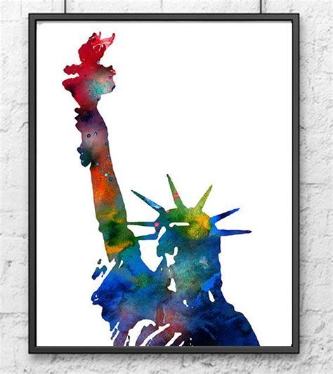 watercolor tattoo new york 25 best ideas about statue of liberty on