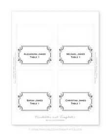 template for place cards printable place cards template images