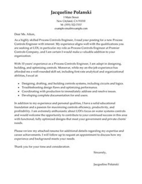 Chemical Engineering Resume Examples by Best Process Controls Engineer Cover Letter Examples