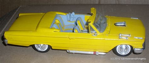 3in1 Ransel Carkeit Brown amt 1963 ford galaxie convertible 3 in 1 customized plastic model car thingery previews