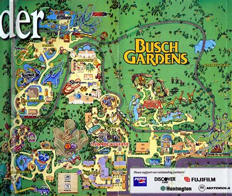 Where Is Busch Gardens In Florida by Theme Park Brochures Busch Gardens Ta Theme Park