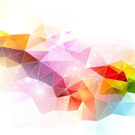 wallpaper freepik polygonal abstract background vector free download