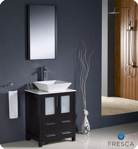 Modern Espresso Bathroom Vanity Fresca Torino 24 Quot Espresso Modern Bathroom Vanity