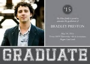 printable modern graduation announcements template