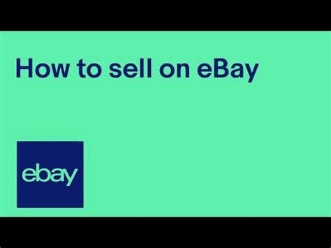 How To Sell On Ebay V The Rest by How To Sell On Ebay Official Uk