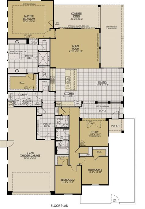 William Ryan Homes Floor Plans viento floor plans william ryan homes