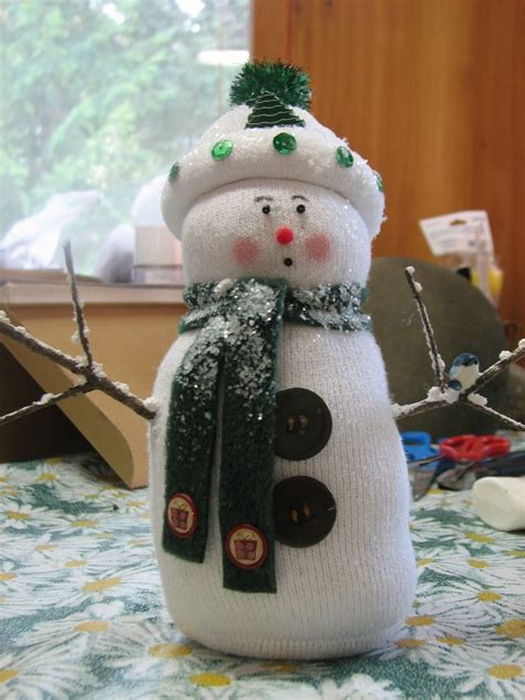 19 best sock snowma images on sock snowman