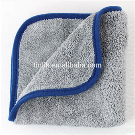 Microfiber Handbag 40x40cm 16 quot x16 quot microfiber car cleaning towels ultra thick buffing cloths absorbent car drying