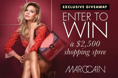 Elle Giveaway - elle giveaway win a 2 500 shopping spree at marc cain