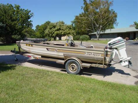 kingfisher boats clothing 1981 kingfisher bass boat 15 nex tech classifieds