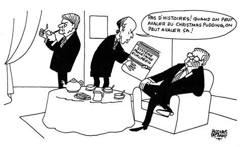Karikatur 4d caricature de faizant sur la cr 233 ation du syst 232 me mon 233 taire